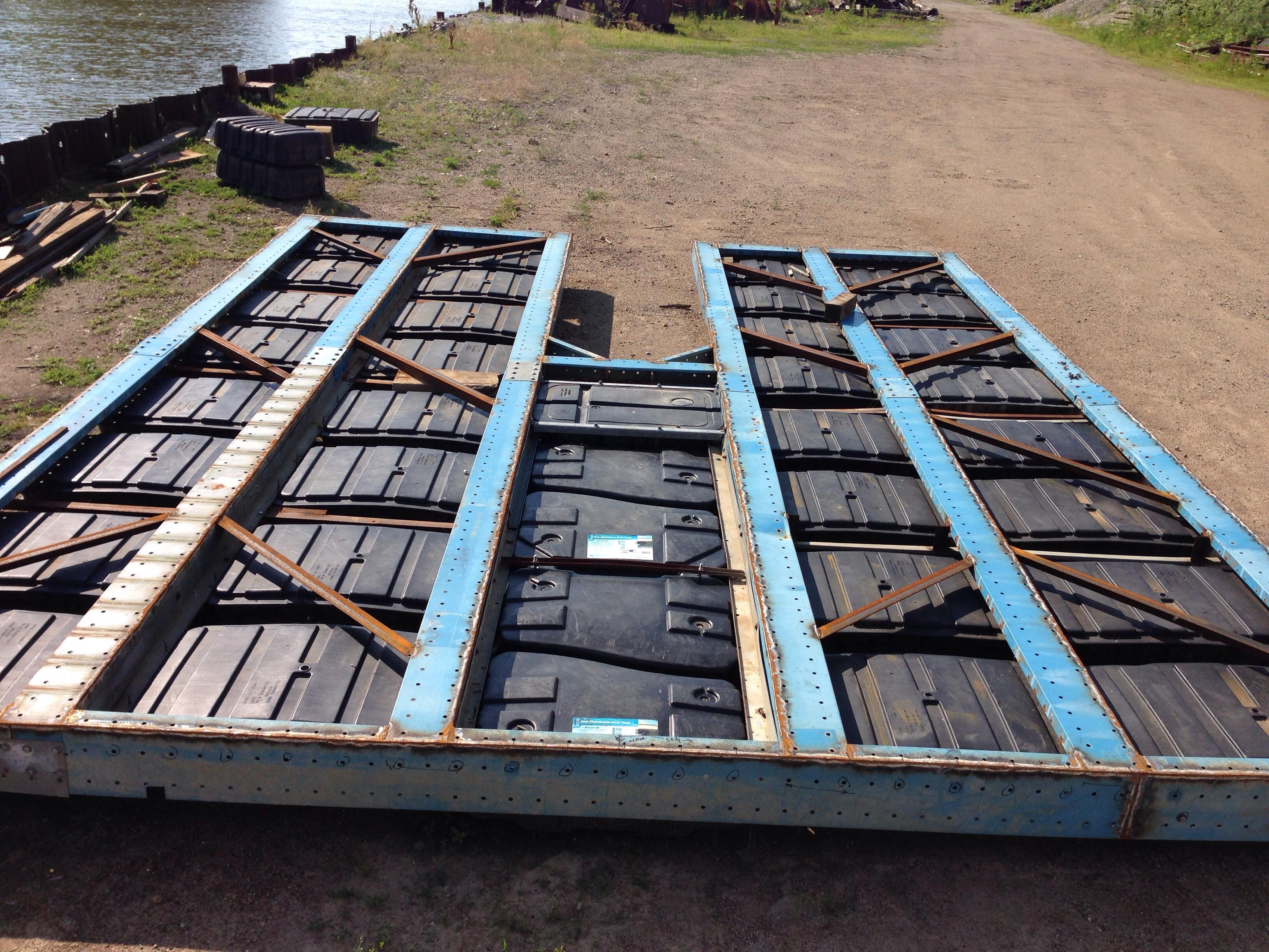 dock frame completred